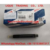 China BOSCH fuel injector 0 432 191 345 , 0432191345 , 0432 191 345 for Deutz engine on sale