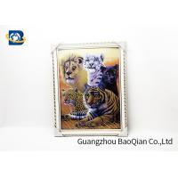 Best Home Decor Picture 3D Animals Photos Tiger Wall Printing Flip Image 0.6MM Thickness wholesale