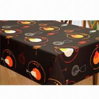 Best Table linen, made of 100% polyester waterproof printed wholesale