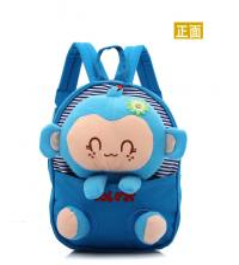 Kids cute canvas backpack