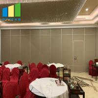 Best Folding Wood Partition Moveable Acoustic Partition Walls System wholesale