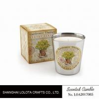 Best Beautiful Smelling Home Scents Candles , Aromatherapy Soy Candles Amber Fragrance wholesale