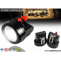 Cheap 96 Lum Rechargeable LED Mining Light 128g Light Weight 3500 LUX Brightness for sale