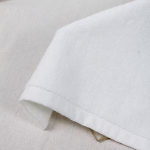 Best Hemmed Hotel 50g/Pc Plain White Hand Towels wholesale