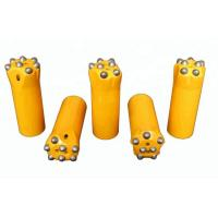 Best Tungsten Carbide Tapered Rock Drilling Tools 7º 11º And 12º Casting Processing Type wholesale