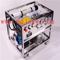 Buy cheap Hot Moveable Sea Water Desalination RO System 500 LPD product