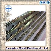 Best Customized Steel Ring And Pinion Gear Spur Shape 10-100mm Thickness wholesale