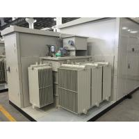 Best 35kV Oil  /  Dry Type Transformer Prefabricated Substation For Wind & Photovolaic wholesale