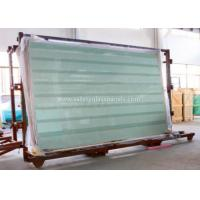 China Clear / Tint Laminated Tempered Safety Glass , Solid tempered window glass on sale