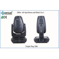 Best Gobo Effect 280W 10R Moving Head Stage Lights / Rotating Stage Light for DJ Lighting wholesale