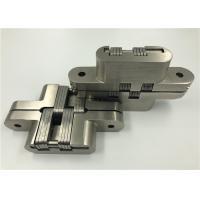 Cheap Custom Made Invisible Spring Hinges , Stainless Steel Continuous Hinges Heavy Duty for sale