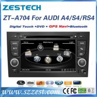 Buy cheap Touch screen car dvd player for Audi A4/S4/RS4 car radio gps with DVD/GPS/Radio from wholesalers