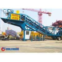 Best 75m3 / H Mobile Ready Mix Concrete Plant , Yhzs75 Automatic Batching Plant wholesale
