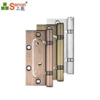 China 304 High End OEM Design Furniture Hardware Accessory Metal Spring Door Hinge For Heavy Door on sale