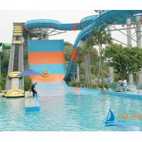 Best OEM Family High Speed Boomerango Amusement Park Water Slides Capacity 720 - 1080 Riders wholesale