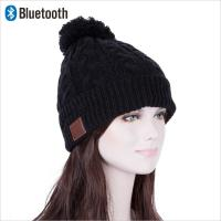 Best wireless beanie hat winter bluetooth hat with headphone music hats and caps 2018 Russia good quality musci hat wholesale