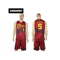 Best Hotsale Sublimated Custom Quick Dry Basketball Jersey Wear For Sale wholesale