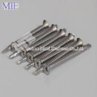 Buy cheap Stainless Steel 316 Self Drilling Screw DIN7504p Csk Head from wholesalers