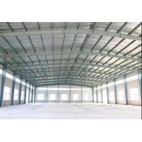 China Pre Engineered Steel Buildings / Clean Span Steel Frame Structure Warehouse on sale