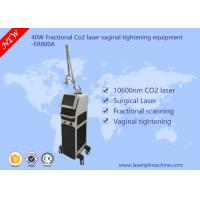 Buy cheap 40w Co2 Fractional Laser Equipment / Commercial Vaginal Tightening Equipment from wholesalers