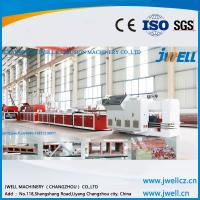 China Jwell pvc ( WPC) fast loading board extrusion line for background panel on sale