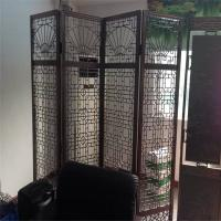 Best sheet metal fabrication stainless steel folding screen room divider from China wholesale