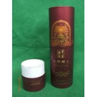 Best Custom Small Cylinder Tubes Cardbaord Wine Packaging Box with Logo Printing wholesale
