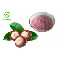 China Food Herbal Extract Powder Pure Mangosteen Whole Fruit Powder Pink Color on sale