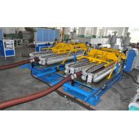 Best Automatic HDPE Spiral Tube Plastic Pipe Extrusion Line With Single Screw Design wholesale