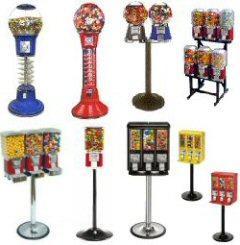 China spiral gumball vending machine on sale