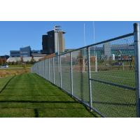 China Hot Dipped Galvanized Link Chain Fence Low Carbon Steel Wire With High Secure on sale