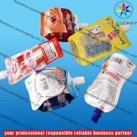 Best juice spout pouch packaging with bottom gusset wholesale