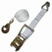 Best 2-inch x 15ft Tent Ratchet Strap with Wire Hook and Snap Hook wholesale