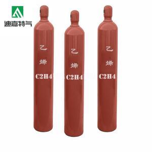 Best Export standard 99.9% pure  Ethylene gas C2H4 gas on sale wholesale