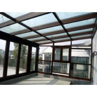 Best Waterproof Aluminum Sun Room Tempered Glass Garden Green House Energy Saving wholesale