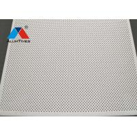 China Standard Perforated 1.8 Aluminum Square Ceiling Board / Acoustic False Ceiling on sale