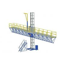 Buy cheap 1000 kg Single Mast Climbing Work Platform for Working Height 100 m product