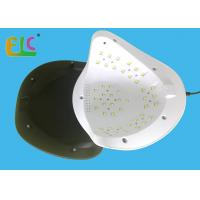 Best High Power Nail Dryer Lamp Large Size UV LED Nail Lamp 90W 45 LEDs  HL Plus For 2 Hands wholesale