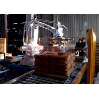 Best High Strength Automatic Stacking Machine , Fast Packing Robotic Bag Palletizer wholesale
