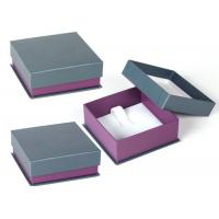 Women Jewellery Presentation Boxes , High End Custom Jewelry Gift Boxes for sale