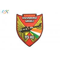 China Angels Wings PVC Military Patches , Custom Rubber Logo Patch For Uniform Garments on sale