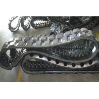 Buy cheap Exquisite Track Loader Rubber Tracks 2448mm Perimeter For Infrastructure from wholesalers