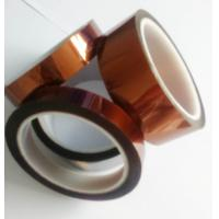 Best Amber Color Kapton Polyimide Tape Class H Insulation Feature For Electrical Coils wholesale