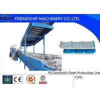 Best Continuously Automatic PU Sandwich Panel Production Line Two Tanks wholesale