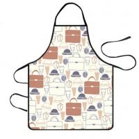 Buy cheap Cooking Baking Apron For Womens Adjustable Waist Ties Soft Comfortable from wholesalers