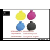 China Negative Ions Products - Colorful Unisex Portable OEM Power Balance Silicone Lipstick Case on sale