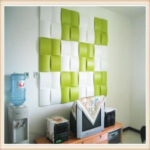 China E-co Friendly PVC Modern Design Wall Decor 3D Effect Wall Panel Decoration on sale