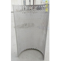 Best Stainless Steel 304 Starch Filtration Screen Rasper Hammer Mill Screen/round hole galvanized perforated metal sheet wholesale