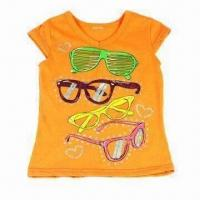 China Children's T-shirt, Available in Various Colors, Sizes and Designs on sale