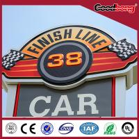 Best Eye Catching!Customized outdoor building advertising roof sign board/road sign wholesale